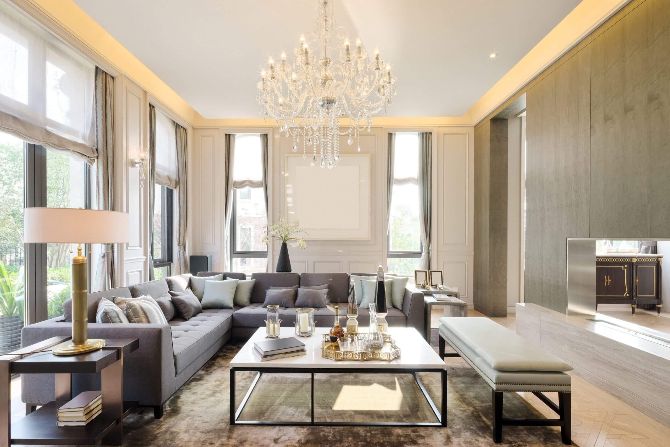 Modern Living Room | Lornham