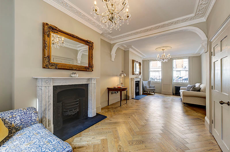 43 Upper Montagu Street Living Room
