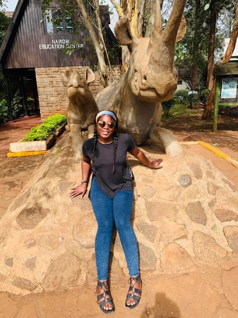 Ayo Ogunleye Casual Photo