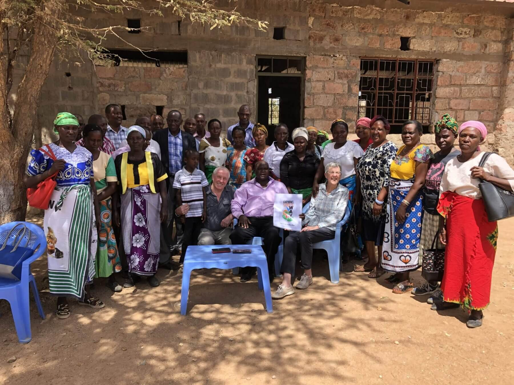 Lornham Charity Donation to Local African Village